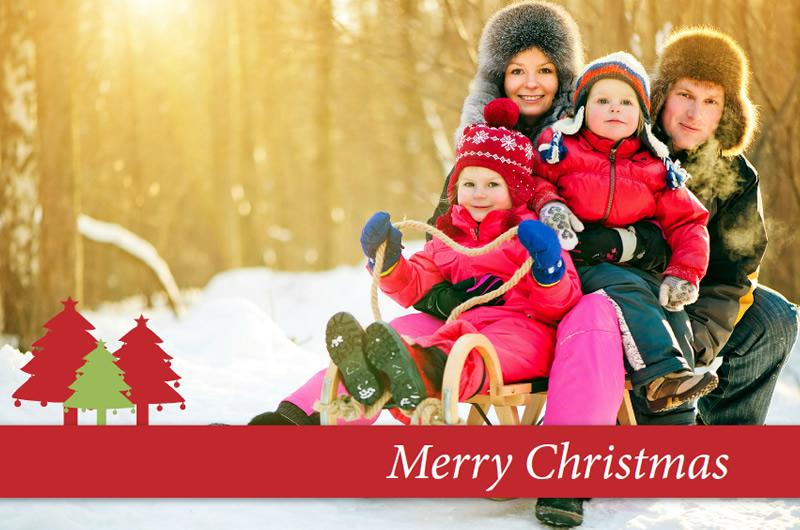 Individuelle weihnachtskarten selbst gestalten - Weihnachtskarten erstellen ...