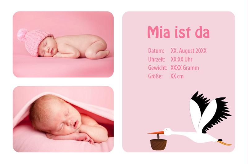 Geburtskarten Selbst Gestalten Mit Der Software