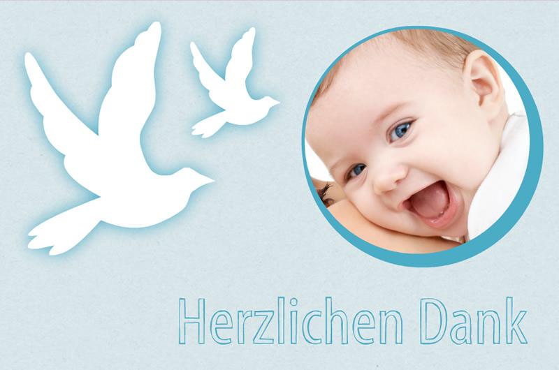 Taufkarten Selbst Gestalten Mit Fotos Von Ihrem Baby